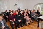 Zaproszeni goście obecni na otwarciu wystawy