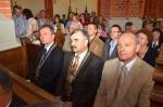 Uroczysta msza święta w Kościele pw Przemienienia Pańskiego w Garbowie