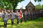 Pomnik poświęcony pamięci pięciu lotników pochodzących z Ziemi Garbowskiej