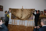 Uroczyste odsłonięcie obrazu - kopii obrazu Sobieski pod Wiedniem – wg Jana Matejki