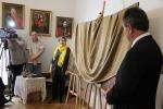 Otwarcie wystawy - Krystyna Zlot i Kazimierz Firlej