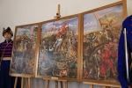 Krystyna Zlot - Tryptyk - kopia obrazu Sobieski pod Wiedniem