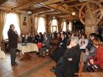 Prezentacja przedstawicieli towarzystw regionalnych z terenu LGD